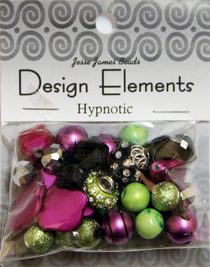 """Набор декоративных бусин """"Design Elements"""" 5897 Гипнотик"""