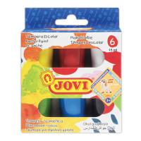 JOVI 520 Гуашь JOVI (Испания), 6 цветов по 15 мл, без кисти, картонная упаковка, 520