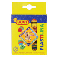 JOVI 90/6 Пластилин на растительной основе JOVI (Испания), 6 цветов, 90 г, 90/6