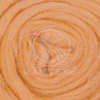 Камтекс 036 Лента для валяния 100% полутонкая шерсть 50 г 036, абрикос