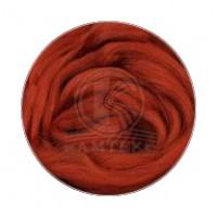 Камтекс 051 Лента для валяния 100% полутонкая шерсть 50 г 051, терракот