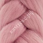 Камтекс 056 Лента для валяния 100% полутонкая шерсть 50 г 056, розовый