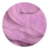 Камтекс 058 Лента для валяния 100% полутонкая шерсть 50 г 058, сирень