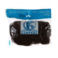 Камтекс 063 Лента для валяния 100% полутонкая шерсть 50 г 063, шоколад