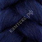 Камтекс 173 Лента для валяния 100% полутонкая шерсть 50 г 173, синий