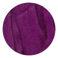 Камтекс 182 Лента для валяния 100% полутонкая шерсть 50 г 182, слива
