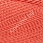 Пряжа для вязания Камтекс Бамбино Цвет 116 коралл неон