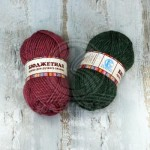 Пряжа для вязания Камтекс Бюджетная Цвет 060 фиолетовый
