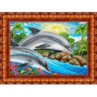 Каролинка КБ 2003 Дельфины