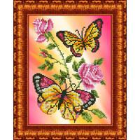 Каролинка КББ 4006 Бабочки и розы
