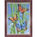 Каролинка КББ 4007 Бабочки на бамбуке