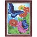 Каролинка КББ 4009 Синие бабочки