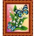Каролинка КББ 5003 Бабочки на ландышах
