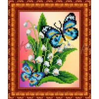Каролинка КББН(ч) 5003 Бабочка на ландышах