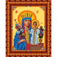 Каролинка КБИ 4073/1 Икона Божья Матерь Неувядаемый цвет