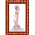 Каролинка КБЛ 3014 Дама в розовом
