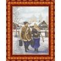 Каролинка КБП 2002 Казак и казачка (репродукция А.Лях)
