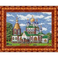 Схема для вышивания КБП 3012 Церковь
