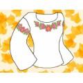 Каролинка КБС/ХБ/-04 Заготовка для сорочки р-р 44-56