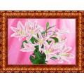 Каролинка КБЦ 3018 Розовые лилии