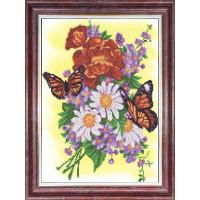 Каролинка КБЦ 3049 Бабочки на летнем букете