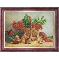 Каролинка КБЦ 3051 Корзина с рябиной и грибами