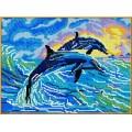 Каролинка КБЖ 3001 Дельфины
