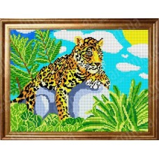 Схема для вышивания КБЖ 3002 Леопард