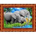 Каролинка КБЖ 3007 Слоны