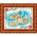 Каролинка КБЖ 4017 Лебеди