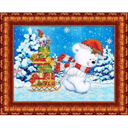 Схема для вышивания КБЖ 4026 Помошники Деда Мороза