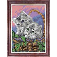 Каролинка КБЖ 4036 Мамы и их зверята.Котята