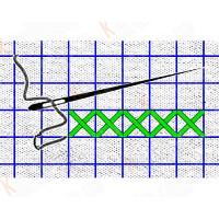 Каролинка КФО 4007 Сетка для вышивки Аида 14