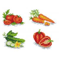 """Каролинка КФО 4038 Заготовка для декорирования """"Овощи"""""""