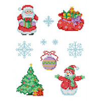 """Каролинка КФО 4042 Заготовка для декорирования """"Новый год"""""""