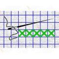 Каролинка КФО 5002 Сетка для вышивки Аида 14