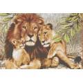 Каролинка КК 003 Семья львов