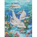 Каролинка КК 004 Семья дельфинов