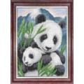 Каролинка КК 0006 Матери и их зверята. Панды
