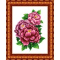 Каролинка КТКН - 126(р) Розовые пионы