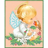 Каролинка Набор для вышивания «Каролинка Азовья» КБА 5001 Разговор с птичкой Набор для вышивания «Каролинка» КБА 5001 Разговор с птичкой