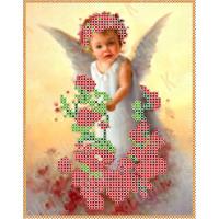 Каролинка Набор для вышивания «Каролинка Азовья» КБА 5003 Ангел в розах Набор для вышивания «Каролинка» КБА 5003 Ангел в розах