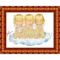 Каролинка Набор для вышивания «Каролинка Азовья» КБАН(Ч) 5010  Небесная музыка Набор для вышивания «Каролинка» КБАН(ч) 5010 Небесная музыка