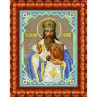 Каролинка Набор для вышивания «Каролинка Азовья» КБИН(Ч) 5045 Св.Василий Великий Набор для вышивания «Каролинка» КБИН(Ч) 5045 Св.Василий