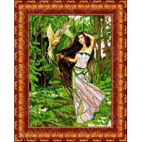 Каролинка Набор для вышивания «Каролинка Азовья» КБЛ 4004 Лесная фея Набор для вышивания «Каролинка» КБЛ 4004 Лесная фея