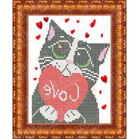 Каролинка Набор для вышивания «Каролинка Азовья» КБЖН 5005 Мартовский кот Набор для вышивания «Каролинка» КБЖН 5005 Мартовский кот