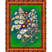 Каролинка Принт для вышивки лентами «Каролинка Азовья» КЛ 4011 Принт для вышивки лентами «Каролинка» КЛ 4011