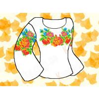 Каролинка Заготовка для сорочки «Каролинка Азовья» КБФ 05 Заготовка для сорочки «Каролинка» КБФ 05
