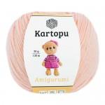 Пряжа для вязания Kartopu Amigurumi (Картопу Амигуруми) Цвет 1219 пудра