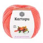 Пряжа для вязания Kartopu Amigurumi (Картопу Амигуруми) Цвет 1250 коралловый